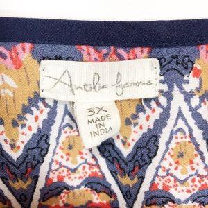 Antilia Femme Tops - Antilia Femme Tunic Crochet Detail